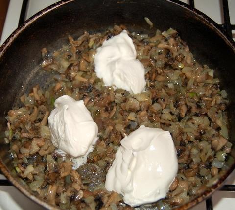 пошаговый фото рецепт грибного соуса
