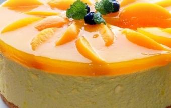 приготовление бисквитного торта с суфле
