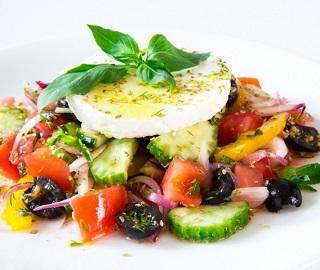 пошаговый фото рецепт греческого салата с фетаксой