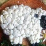 рецепт новогоднего салата - овечка