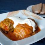 рецепт голубцов с мясом и рисом
