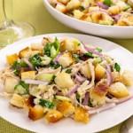 рецепт салата с курицей - хрустящий